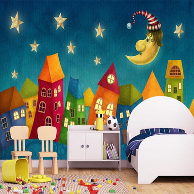 Kids Bedroom Cartoon Murals Wallpaper - Goods Shopi