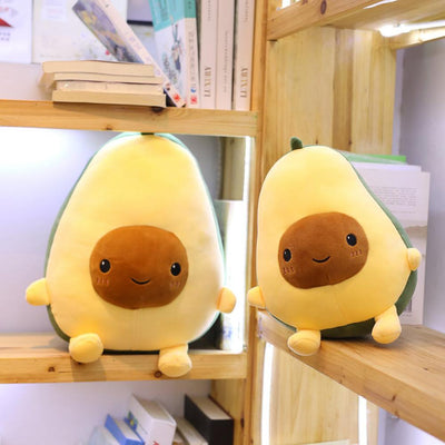 Food Pillow Avocado Fruit Plush Toy Stuffed - Goods Shopi
