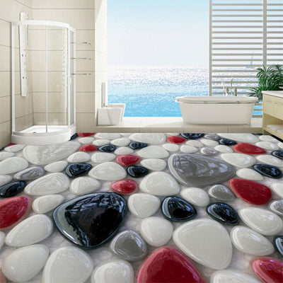 3D Mural Floor Tiles Self adhesive Colorful Stone - Goods Shopi