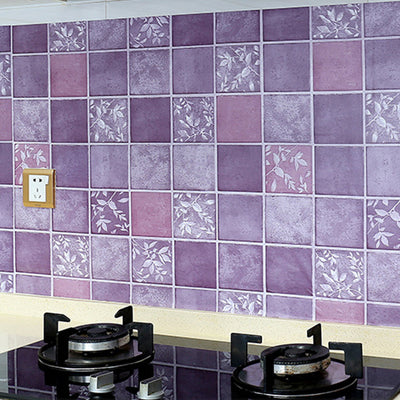Kitchen Oil proof Stickers  Waterproof  Self-Adhesive - Goods Shopi