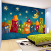 Kids Bedroom Cartoon Murals Wallpaper