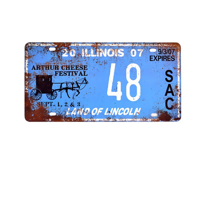Garage man cave ideas License Plates Metal Signs Home Decor - Goods Shopi