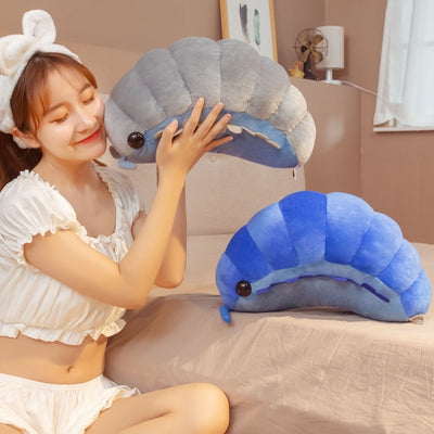 Cute Giant caterpillar insect Plush Toys Stuffed