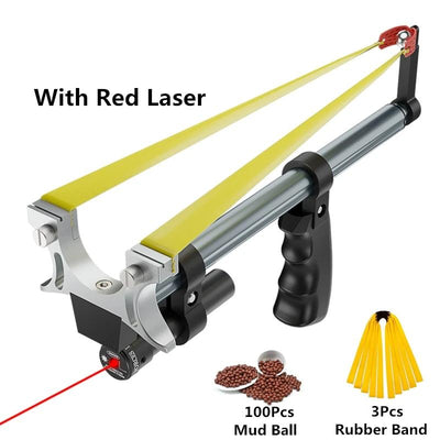 Telescopic rod Laser Rubber Band Outdoor Hunting