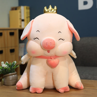 Giant Stuffed Animal Cute Fat Angel Pig Soft Plush Pillow