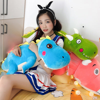 Giant Stuffed Animal Squishy Dinosaur Plush Toy pillow