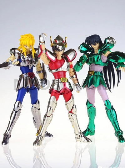 Action figure model Pegasus seiya Dragon shiryu