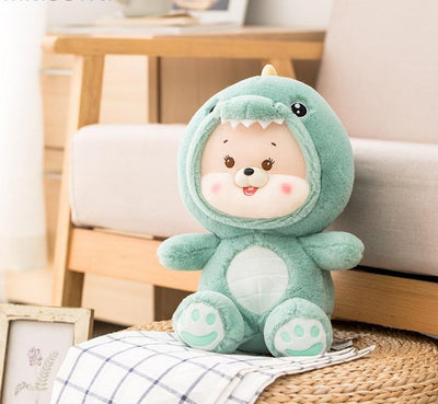 Kawaii Stuffed Animals Dinosaur Teddy Bear Plush Toy