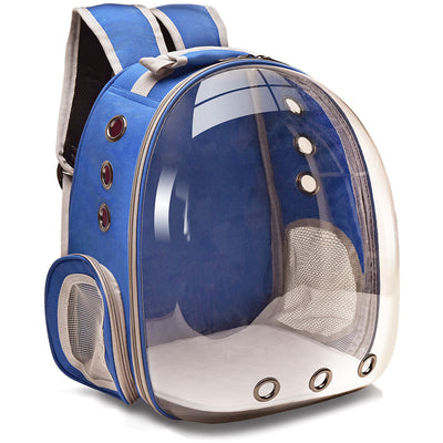 Transparent Pet Cat Carrier Backpack Breathable Travel Bags