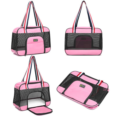 Portable cat carrier bag Breathable