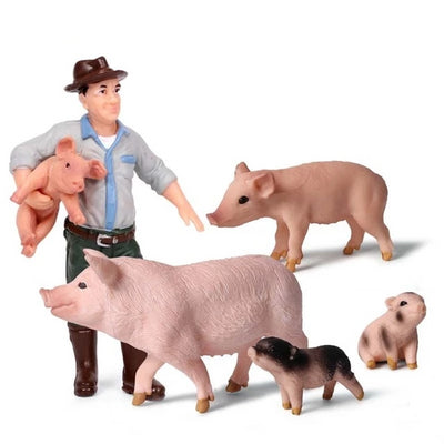 Figurines Farm Zoo Animals toy - Goods Shopi