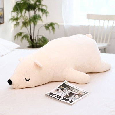 Giant Stuffed Animal  Kawaii Dressing Polar Bear Plush Toy