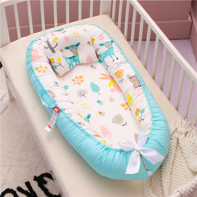 Portable Baby Nest Bed Crib Travel
