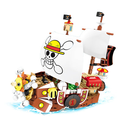 Pirate Ships Building Blocks One Pieces Boats 432pcs