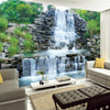 3D Wallpaper Natural Mural Waterfall - Goods Shopi