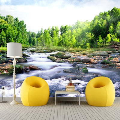 3D Wallpaper Mural Nature Landscape Living Room - Goods Shopi