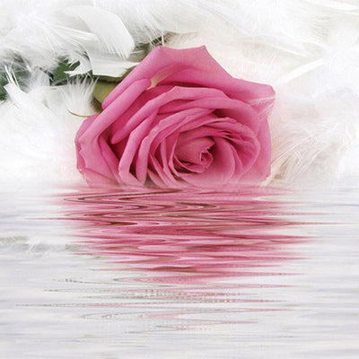 Wallpaper Mural 3D Beautiful Flower Romantic Rose - Goods Shopi