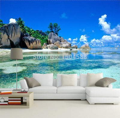 3D Wallpaper Mural Nature Scenery Landscape - Goods Shopi