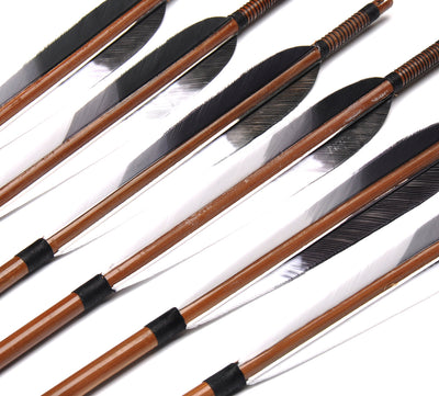 Bamboo Arrows  Recurve Bow Hunting Archery - Goods Shopi