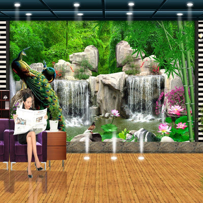 3D Mural Natural Scenery Wallpaper Landscape - Goods Shopi