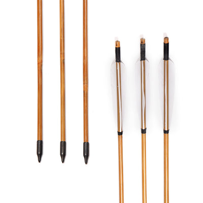 Bamboo Arrows Hunting Bow Archery - Goods Shopi