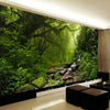 3D  Wallpaper Mural Forest Nature Landscape - Goods Shopi