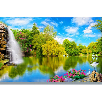 3D Mural Wallpaper Landscape Natural Scenery - Goods Shopi