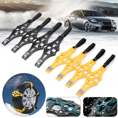 ANTI SKID EMERGENCY TIRE STRAPS 4pcs/set - Goods Shopi