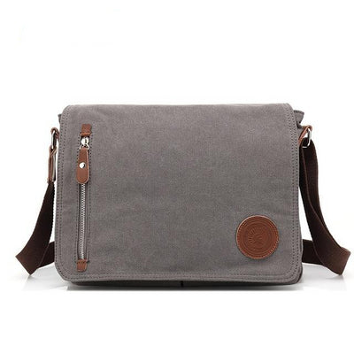 Mens Canvas Crossbody Bag - Goods Shopi