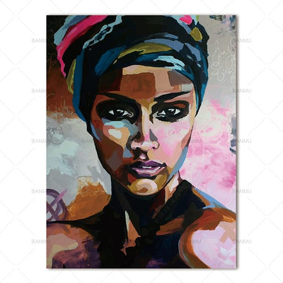 Canvas painting abstract women wall Art - Goods Shopi