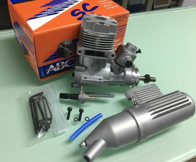 ASP 2 Stroke 7.5CC Nitro Engine For RC Airplane - Goods Shopi