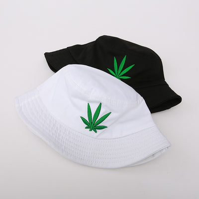 Bucket Hat Leaf Outdoor Fisherman hat - Goods Shopi
