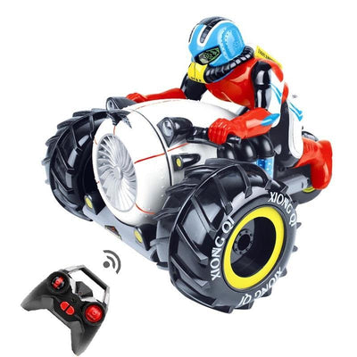 Radio Control Motorcycle Stunt Car - Goods Shopi