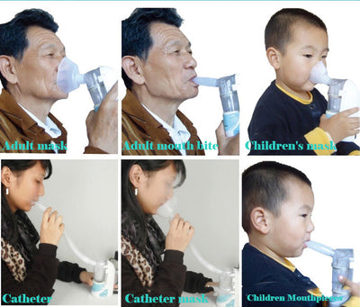Ultrasonic Handheld Asthma Inhaler Nebulize Children - Goods Shopi