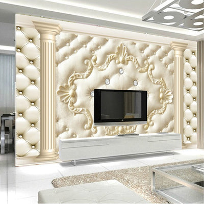 3D Mural Wallpaper Fashion - Goods Shopi