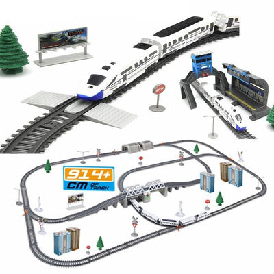 electric train set Simulation of high-speed rail - Goods Shopi