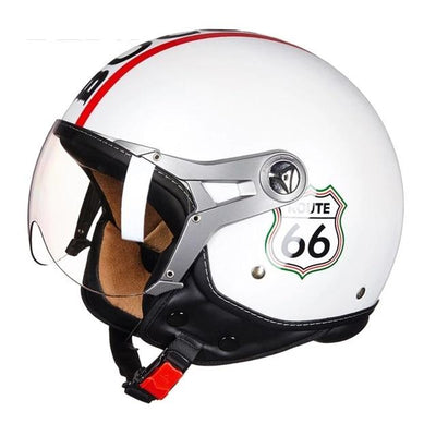 Vintage Motorcycle Helmet Chopper Off Road - Goods Shopi