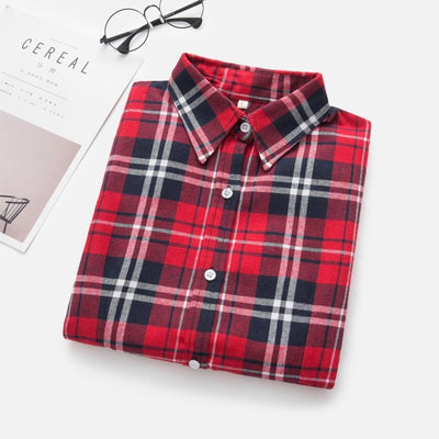 Women Long Sleeve Blouses Shirt - Goods Shopi