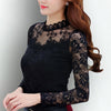 Women Blouses Long Sleeve O-Neck - Goods Shopi