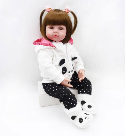 Baby girl dolls silicone toy - Goods Shopi