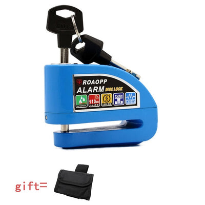 Motorcycle Alarm Disc Lock Anti-theft - Goods Shopi