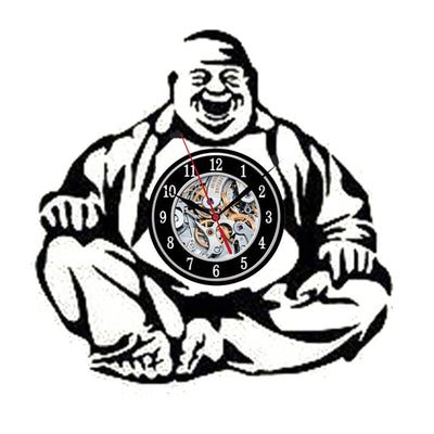 Buddha Vinyl LP Record Wall Clock - Goods Shopi