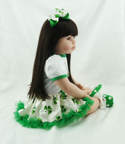 Realistic Girl Baby Doll Toy - Goods Shopi