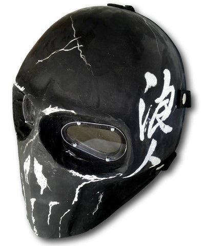 Paintball Airsoft Mask Zombie Ronin Army - A037 - Goods Shopi