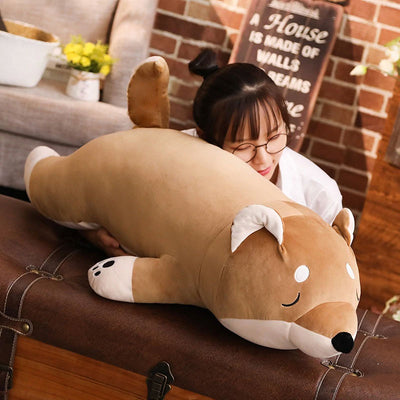 Giant Stuffed  shiba inu plush toy pillow