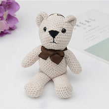Load image into Gallery viewer, Cloth Vintage Key Ring Bear