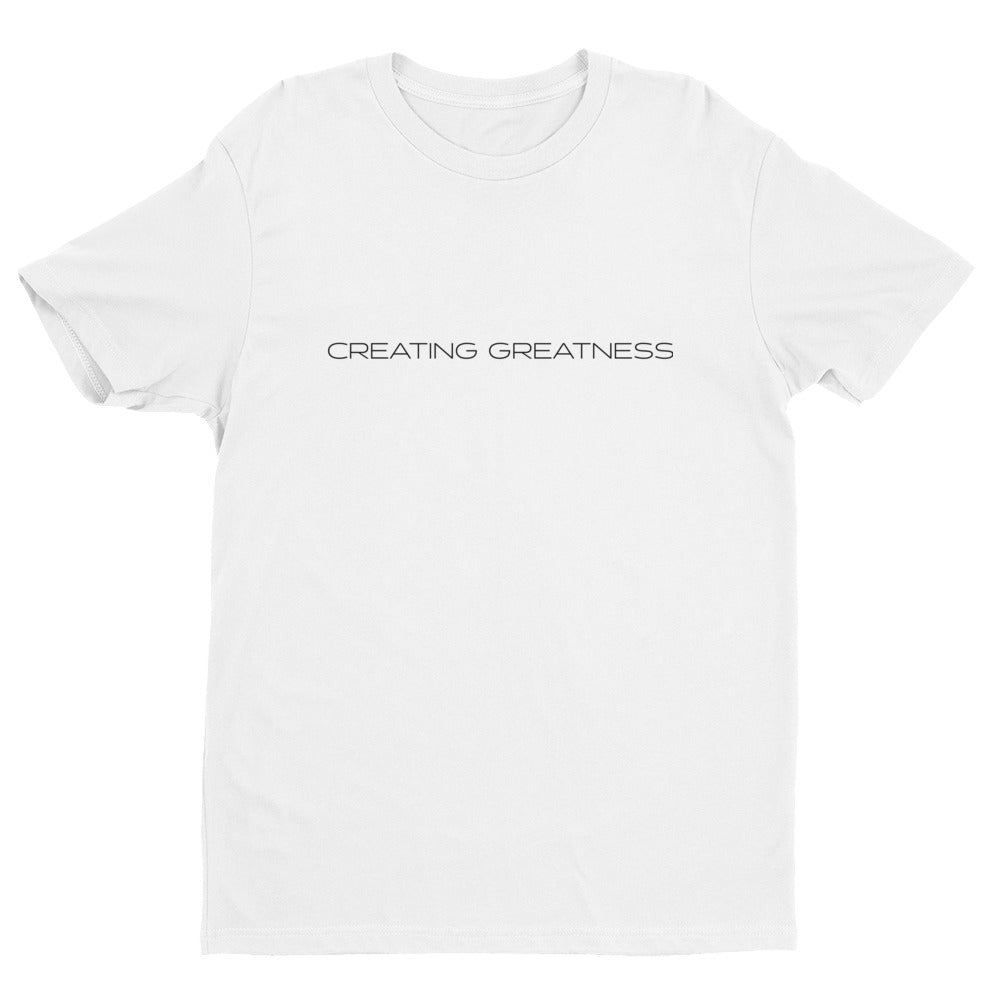 Creating Greatness Tee - White