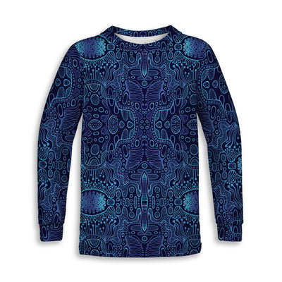 Blue Yonder Childrens Long Sleeve Tee | Fabrifaction.com