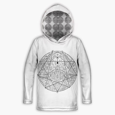 Enneagram Childrens Lightweight Hoodie | Fabrifaction.com