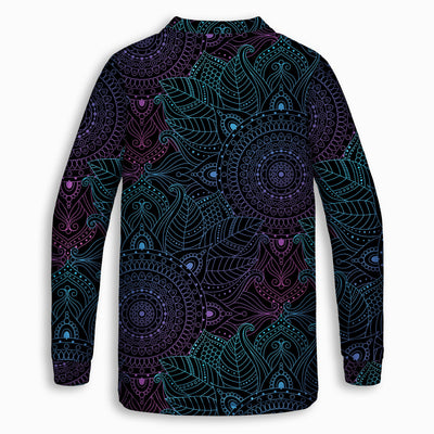 Lunare Mandala Childrens Sweatshirt | Fabrifaction.com